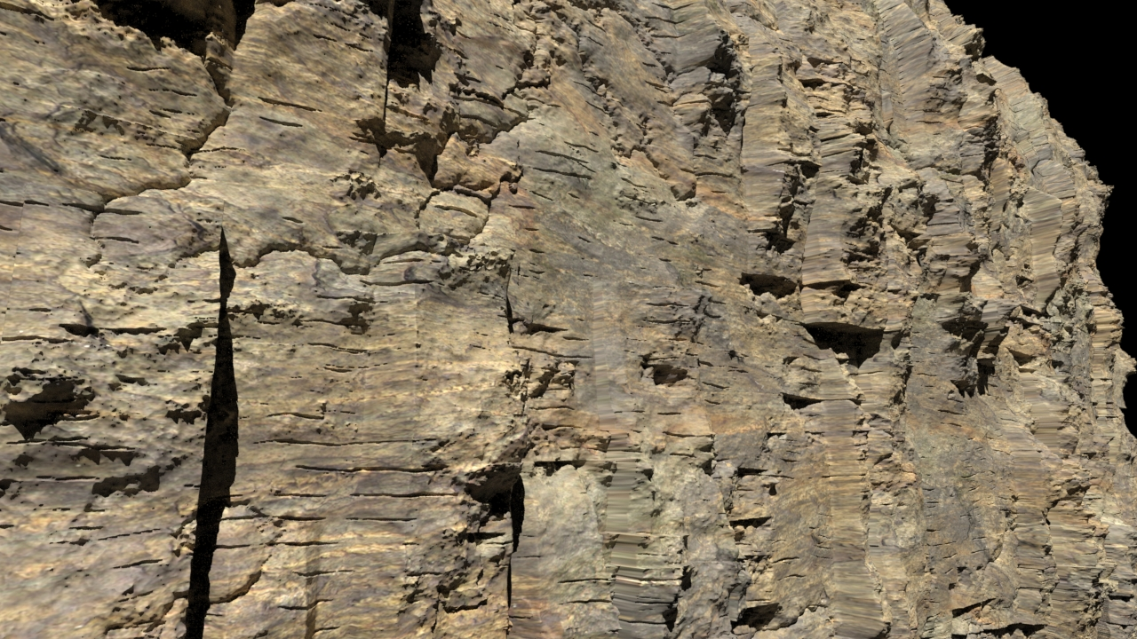 Houdini Procedural Rock Generator | Ron Schab – VFX